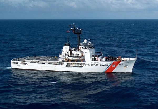 USCG James de la Guardia Costera de EEUU