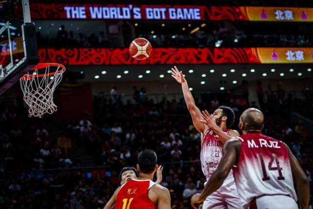 Venezuela derrotó a China y avanza a la segunda ronda del Mundial de Baloncesto