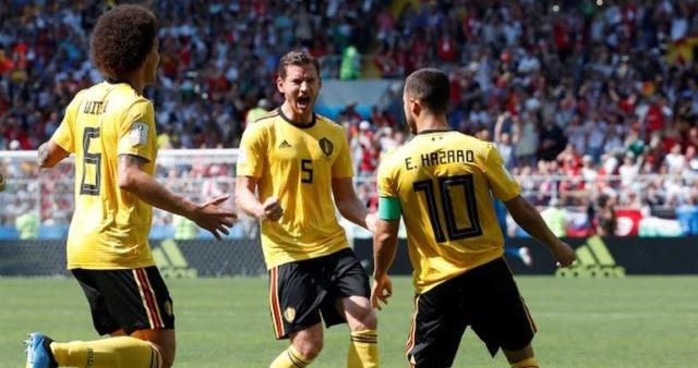 Bélgica goleó a Túnez y clasifica a octavos de final del Mundial de Rusia 2018 Belgic10