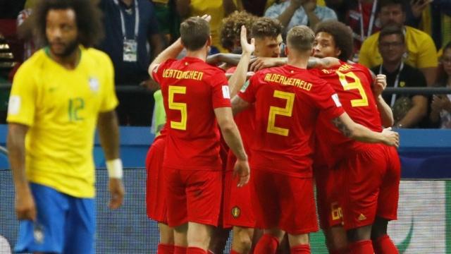 Bélgica elimina a Brasil y se va a por Francia en la semifinal del Mundial Rusia 2018 Belgic12