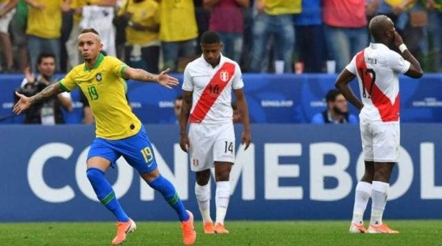Brasil, nuevo campeón de la Copa América al vencer 3-1 a Perú
