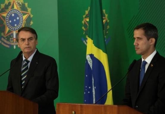 Jair Bolsonaro, Juan Guaidó