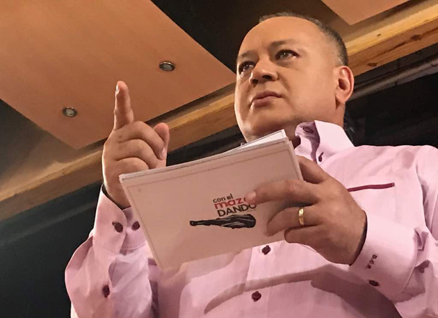 Diosdado Cabello: Este jueves se aprobará la Ley de Ilícitos Cambiarios en la ANC Cabell12