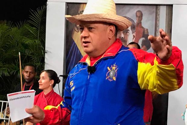 """Cabello: Si la oposición pretende llegar al poder por el terrorismo """"no hay forma ni manera"""" Cabell14"""