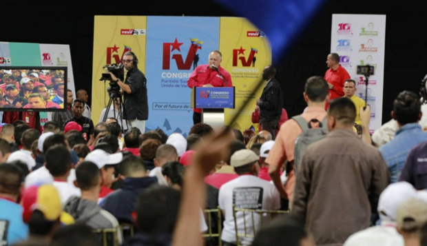 Diosdado Cabello, PSUV