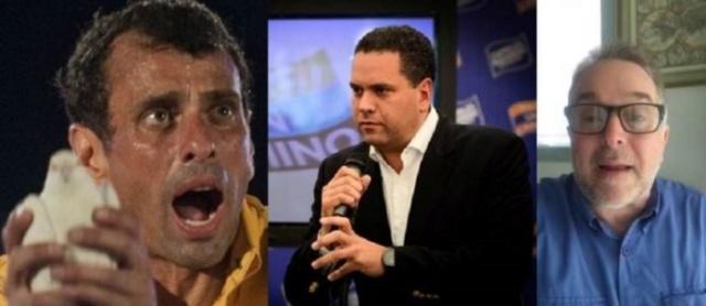 Capriles Radonski, Armando Briquet, Esteban Gerbasi