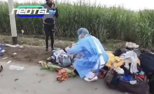 venezolanos arrollados en Perú por camión