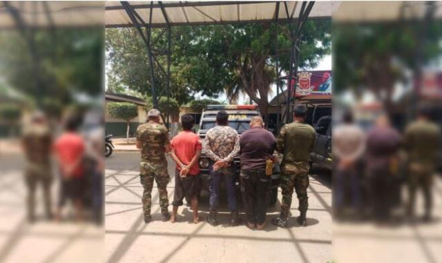 Mercenarios capturados en el Zulia
