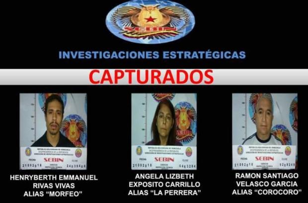 Implicados en el intento de Magnicidio contra Nicolás Maduro