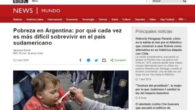 La BBC sobre la Argentina de Macri