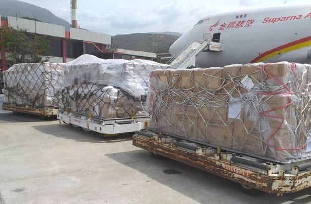 Ayuda de China a Venezuela