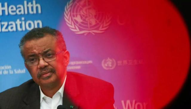 El director general de la Organización Mundial de Salud, Tedros Adhanom Ghebreyesus
