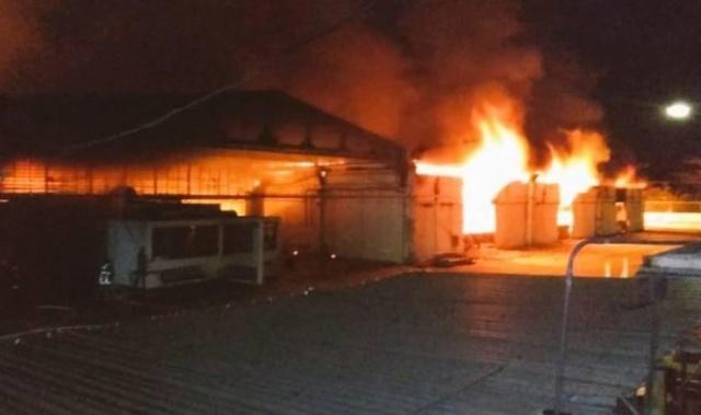 Atacaron y quemaron almacén de CANTV y Movilnet