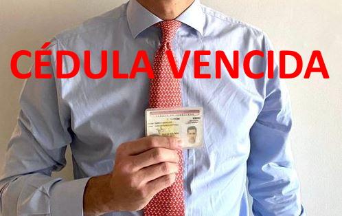Cédula vencida de Juan Guaidó