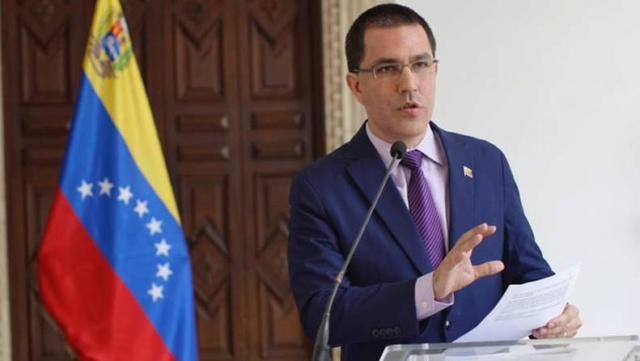 canciller de Venezuela, Jorge Arreaza