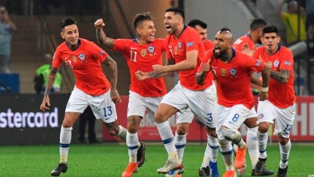 Chile gana a Colombia en penales 5-4
