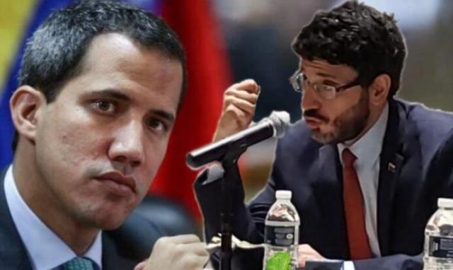Juan Guaidó y José Ignacio Hernández