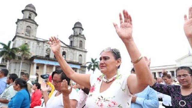 Nicaragüenses piden por la paz y la reconciliación y exigen a la oposición cesar violencia Clamor10