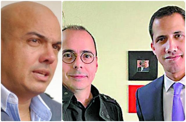 Cliver Alcalá, JJ Rendñon y Juan Guaidó