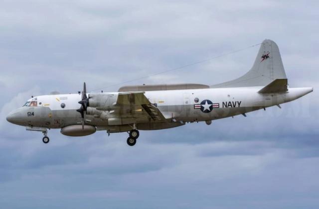 avión de Inteligencia Estratégica RC135 USAF