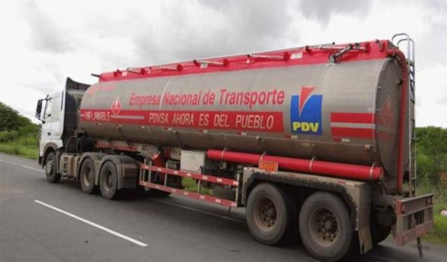 Diesel de PDVSA, Camión cisterna