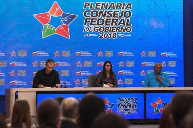 Gobierno Nacional aprueba 41 mil millones de BsS para gobernaciones y alcaldías Consej12