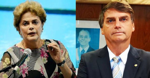 Dilma Rousseff, Jair Bolsonaro