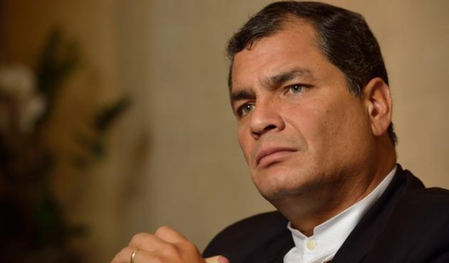 Rafael Correa asegura que hay una estrategia regional contra líderes de izquierda Correa10