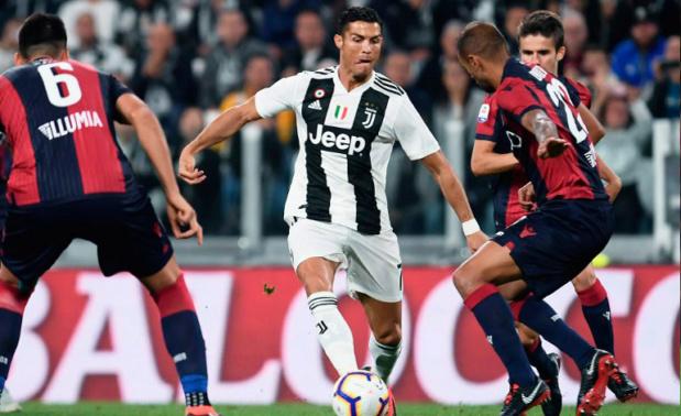 Juventus se impone 2-0 ante el Udinese con gol de Cristiano Ronaldo Cr7-ju10