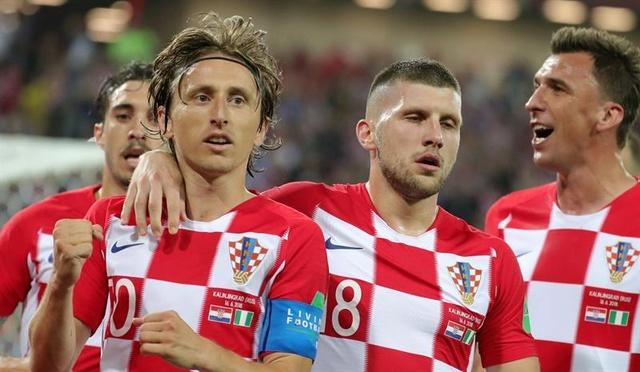 Croacia se lleva los tres puntos ante Nigeria en su debut en el Mundial de Rusia 2018 Croaci10