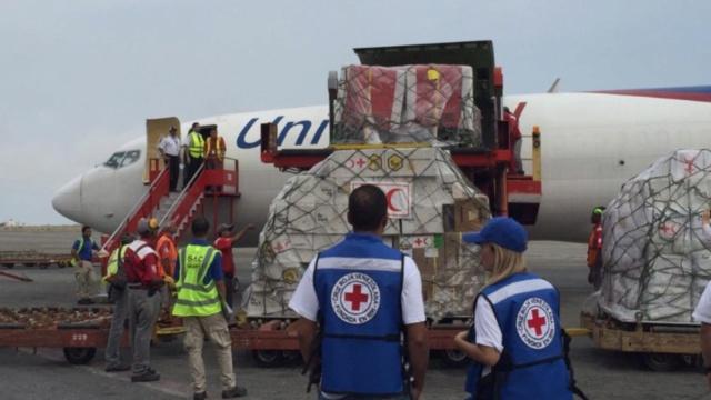 Ayuda Humanitaria de la Cruz Roja para Venezuela