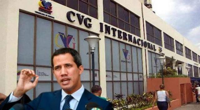 Guaidó y CVG Internacional