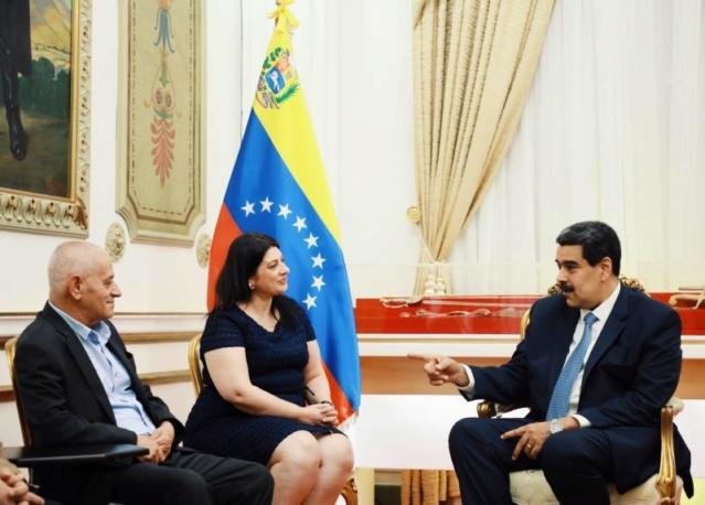 Maduro se reunió en Miraflores con el Premio Nobel de la Paz 2015, Houcine Abassi
