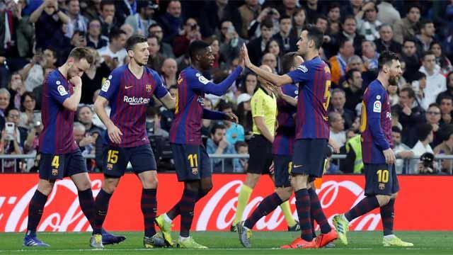 Barcelona supera y gana 1-0 al Real Madrid