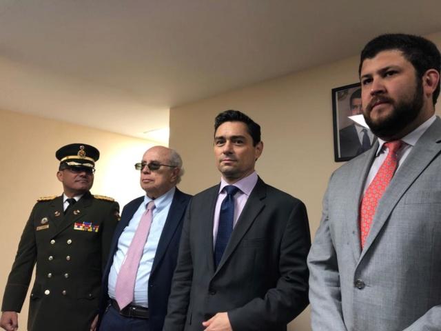 Toma ilegal de la embajada de Venezuela en Estados Unidos