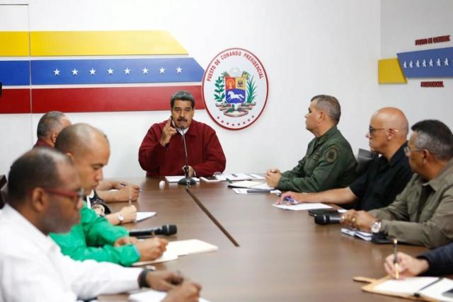 Presidente Maduro desde el Comando Presidencial