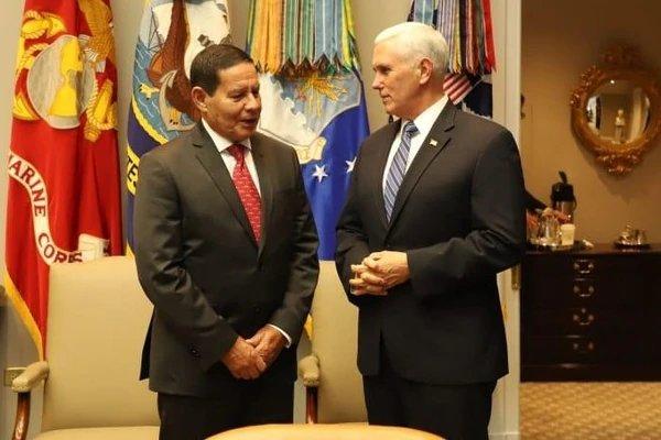 Vicepresidente de Brasil: No apoyamos una intervención militar en Venezuela D3q8yd10