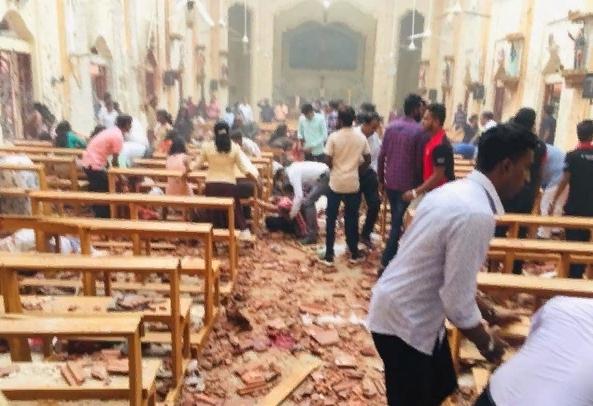 Atentados explosivos contra iglesias y hoteles en Sir Lanka