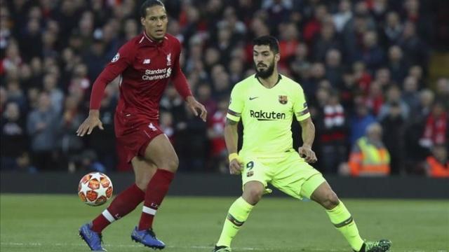 El Liverpool y el Barcelona
