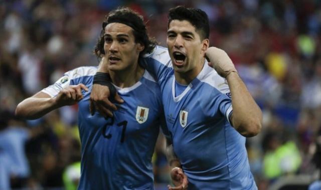 Uruguay le gana 1-0 a Chile