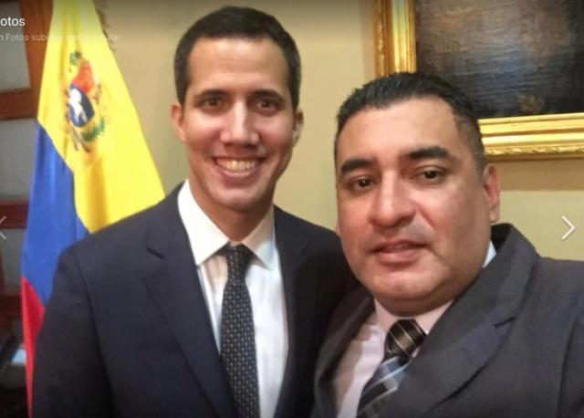 Juan Guaidó y Kevin Rojas