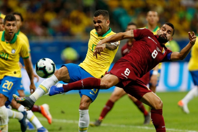 Brasil empata 0-0 con Venezuela