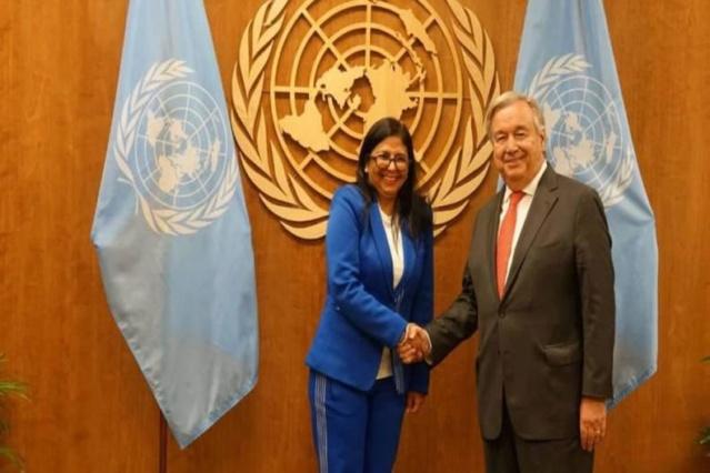 Venezuela entregó en la ONU certificación de firmas de campaña No More Trump