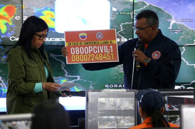 Decretan Alerta roja por crecida de los ríos Caroní, Orinoco y Cataniapo tras fuertes lluvias Destac10