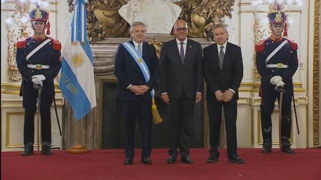 Jorge Rodríguez, Alberto Fernández