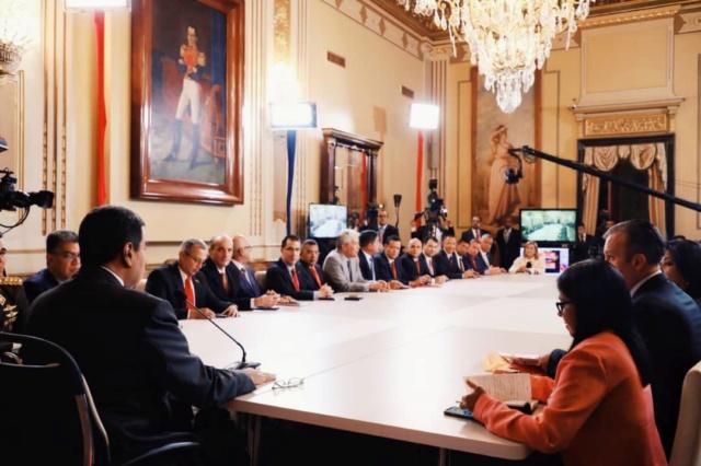 Gobierno venezolano avanza en la consolidación de nueva etapa de la Revolución Dfvjim10