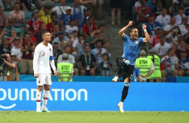 Rusia 2018: Uruguay sella una cita con Francia en cuartos al vencer 2-1 a Portugal Dg9vgq10