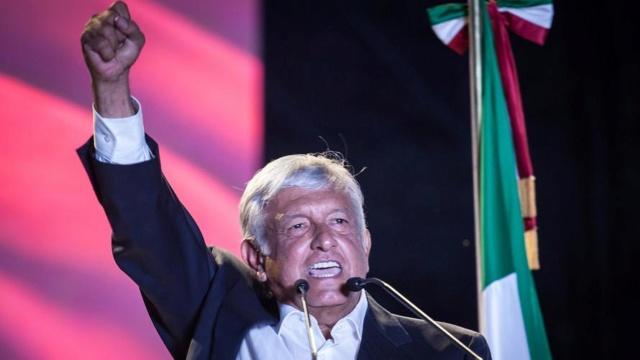 López Obrador, el candidato de la izquierda en México obtiene abrumador triunfo y gana la presidencia Dhej3m10