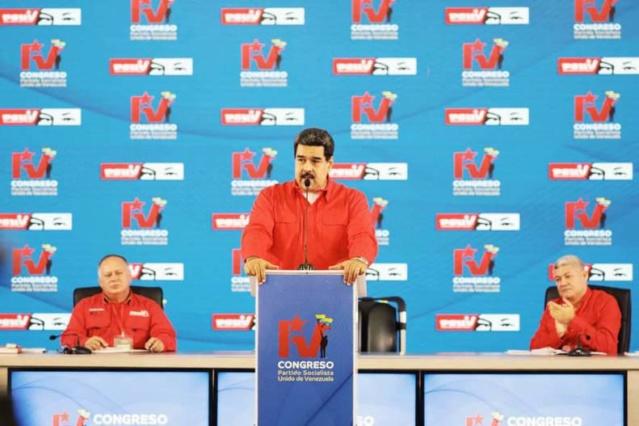 Conozca las instrucciones que dio Maduro a la directiva nacional y militantes del Psuv Djpuxk10