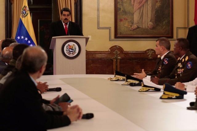 Presidente Maduro responsabiliza a eje Miami-Bogotá del atentado en su contra Djztqs10